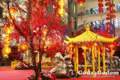 Празднование Нового года в Китае