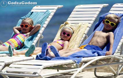 Дети на летних каникулах
