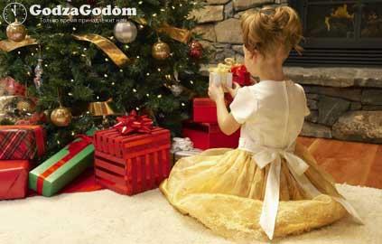Детские подарки на Новый год 2017