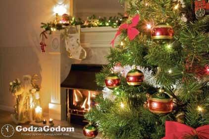 Украшения дома и новогодней елки к Новому 2017 году