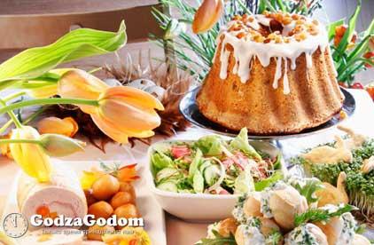 Пасха - традиционные блюда