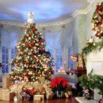 Варианты новогоднего интерьера
