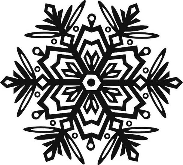 Снежинка на новый год 2017 фото