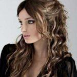 Новогодняя прическа для длинных волос