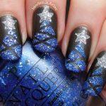 Фото новогоднего маникюра для длинных ногтей