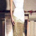 Модное новогоднее платье 2017
