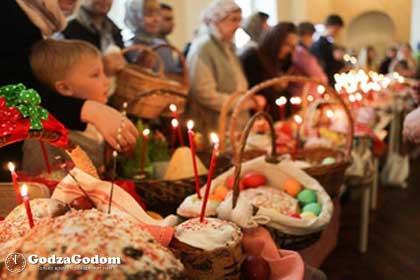 Торжественное празднование православной Пасхи в 2018 году