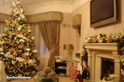 Украшения новогодней елки и дома к Новому 2018 году