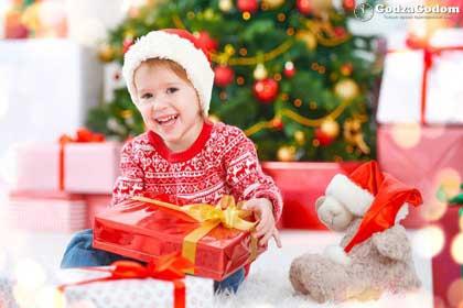 Детские подарки на Новый год 2018