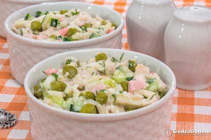 Салат с кальмарами к Новому году