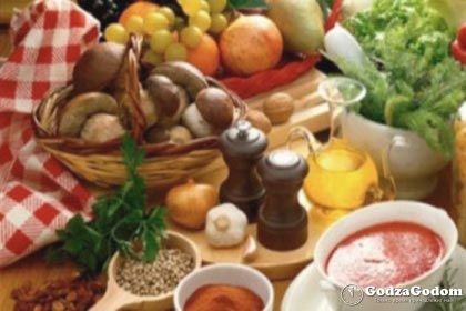 Календарь постного питания и блюда