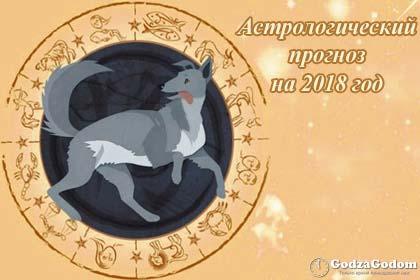 Астрологический прогноз на 2018 год по знакам зодиака