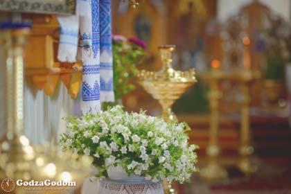 Празднование Вознесения Господня в церкви