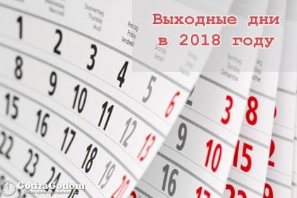 Как и сколько отдыхаем в 2018 году в России