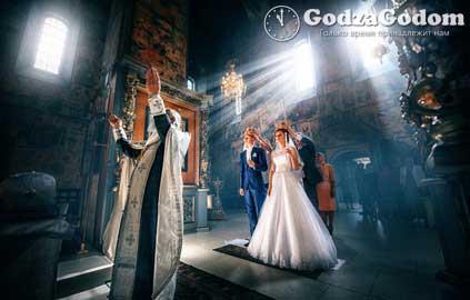 Обряд венчания в храме