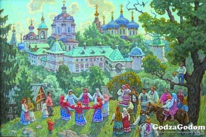 Когда Красная горка в 2017 году у православных