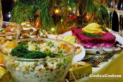 Рецепты простых и вкусных салатов к Новому 2019 года Петуха