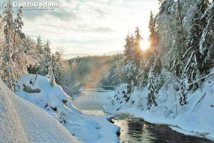 Красивая природа Карелии порадует Вас на Новый год 2017