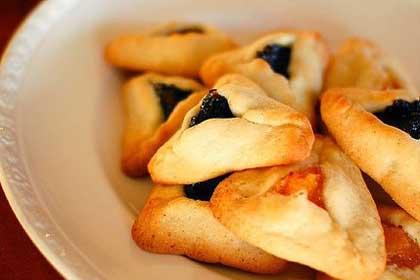 Печенье гоменташ - традиционное блюдо на праздновании Пурима