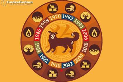 Животное и символ 2018 года по восточному гороскопу - желтая земляная Собака