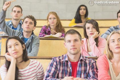Студенты РФ на парах
