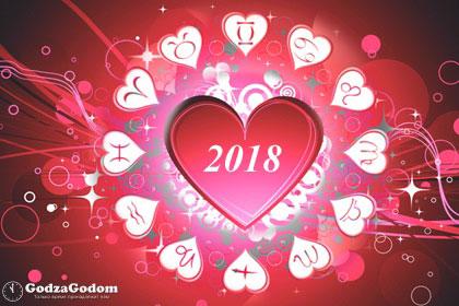 Любовный гороскоп на 2018 год: женщина и мужчина