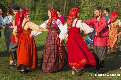 Народные гуляния в день Красной горки