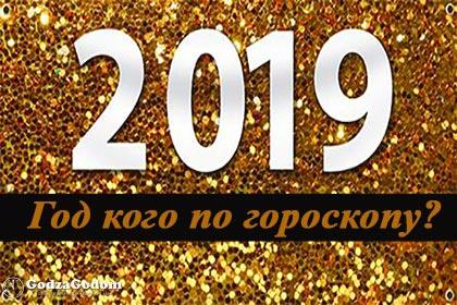 2019 год кого будет по гороскопу