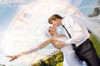 Свадебный гороскоп на 2019 год