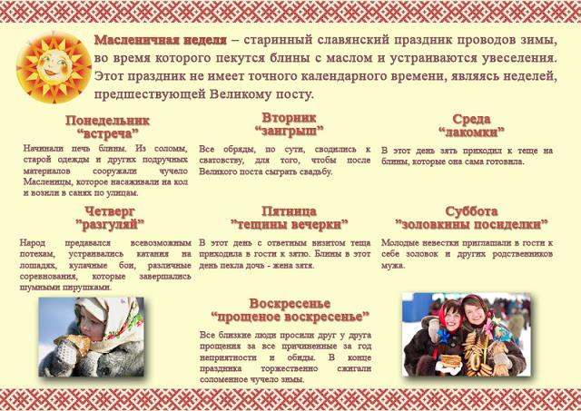 Обряды и традиции