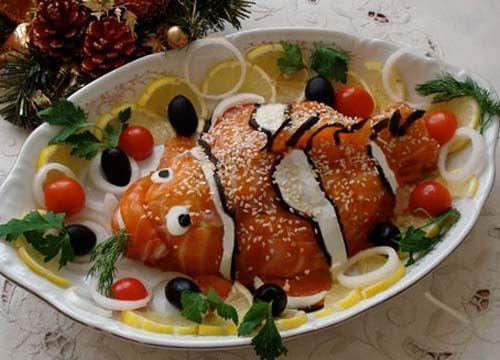 Салат «Рыбка»