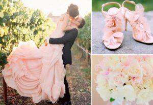 Свадьба в розовом