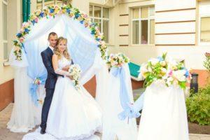 Свадьба в голубом