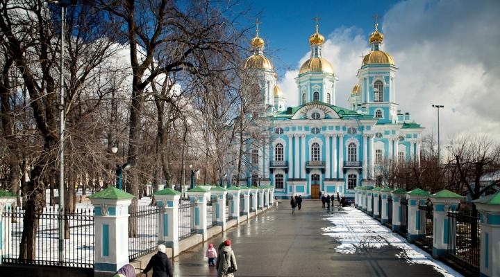 Никольский собор в Санкт-Петербурге