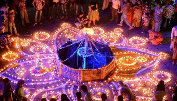 Дивали — праздник в Индии